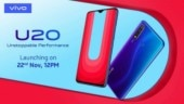 Vivo U20 with 5000mAh battery, Snapdragon 675 set to launch today