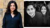 Shweta Bachchan's kids Agastya-Navya met Zoya Akhtar in New York. Hope they behaved, said their mom