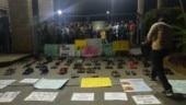 Shoe Satyagraha: IIM Bengaluru students use footwear to register CAA protest; defy Sec 144, admin orders