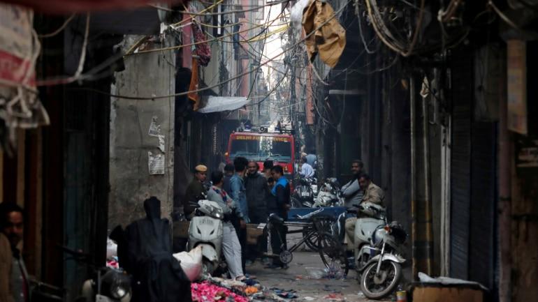 Delhi Anaj Mandi fire