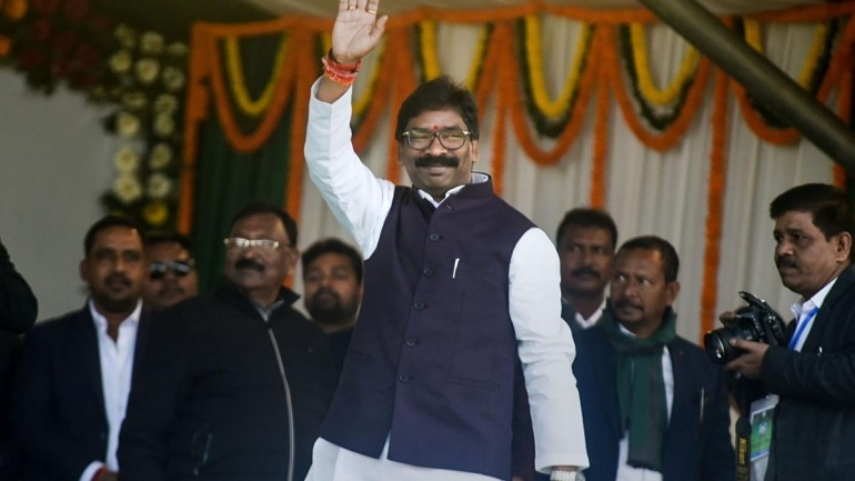 Hemant Soren takes oath as Jharkhand Chief Minister