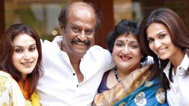 Happy birthday Rajinikanth: Daughters Aishwaryaa and Soundarya wish father on his special day