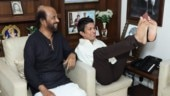 Rajinikanth meets differently-abled artist. Internet is in love with their photos