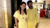 Ram Charan and wife Upasana twin in yellow at sister Sreeja's daughter's birthday. See pics