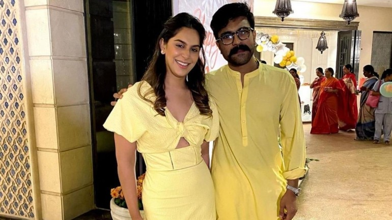 Upasana and Ram Charan