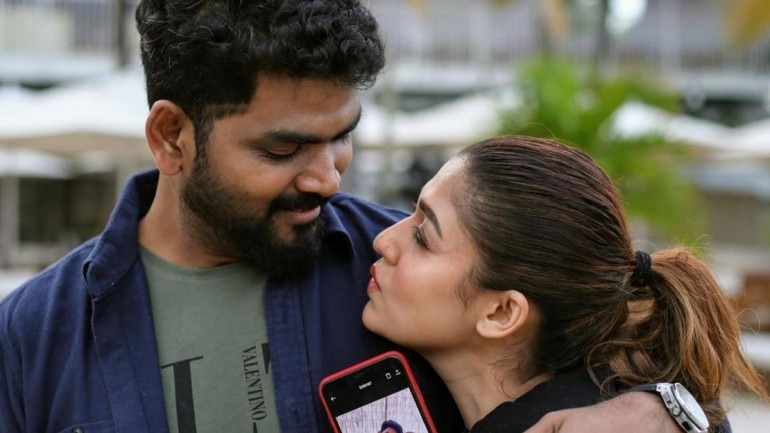 Nayanthara 2020 Christmas Pictures Nayanthara and Vignesh Shivan spread Christmas cheer with new pics
