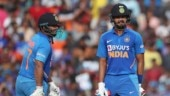 Shreyas Iyer stars in record over for India in one-day internationals