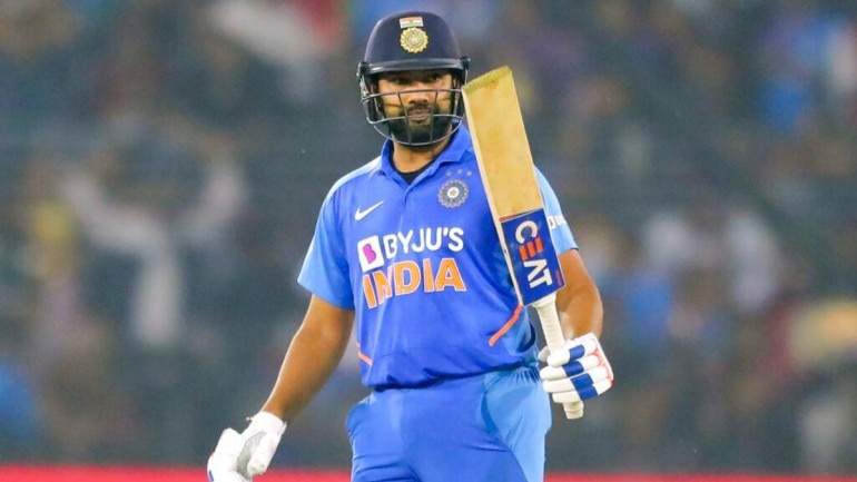 Rohit Sharma hit 7 centuries in ODIs in 2019, including a record 5 in the World Cup this year (AP Photo)