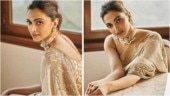 Deepika Padukone redefines royalty in pearl-white saree. Gives major wedding outfit inspiration