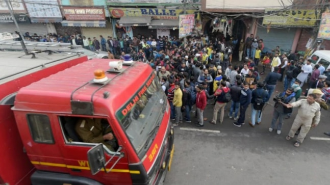 Delhi fire: After victims families object, bodies of Bihar residents to be taken home by road