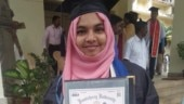 Rejected gold medal not for Hijab, but to protest against CAA, NRC: Pondicherry Uni student