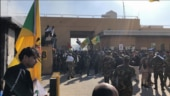 Iraqi supporters of Iran-backed militia attack US Embassy