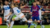 Lionel Messi closes year with 50 goals as Barcelona routs Alavés