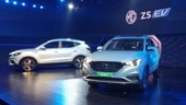 MG ZS electric vehicle unveiled in India; might be priced over Rs 20 lakh