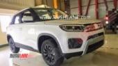 Maruti Suzuki Vitara Brezza facelift spied sans camouflage
