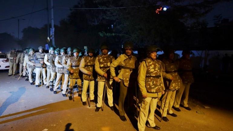 Jamia violence, delhi police firing