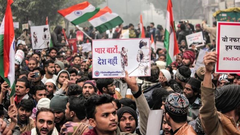 delhi caa protest