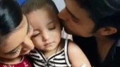 Parth Samthaan's niece Rivah drops in on Kasautii Zindagii Kay set, Erica Fernades plays with her. Watch video