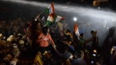 Unnao case: Delhi candlelight march turns violent, police use water cannons on protesters