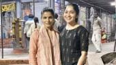 Samantha and Ramya Subramanian visit Tirupati temple by foot. See pics