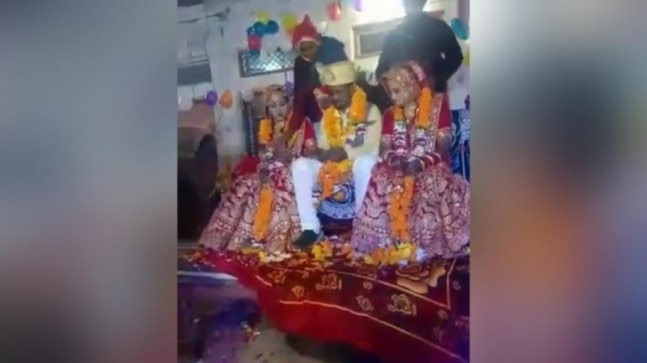 Madhya Pradesh: 2 sisters marry same man at wedding ceremony