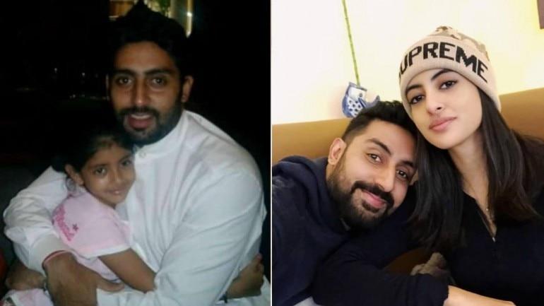 Abhishek Bachchan took to social media to wish his niece Navya Naveli Nanda on her birthday.