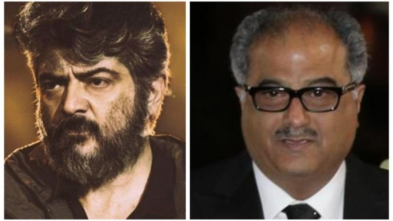 Ajith will be seen as a cop in Boney Kapoor's production Valimai