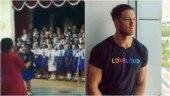 School kids sing Imagine Dragons' Believer in assembly. Dan Reynolds finds viral video beautiful