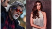 Amitabh Bachchan shoots in minus 3 degrees. Daughter Shweta is bowled over by Daddy Cool
