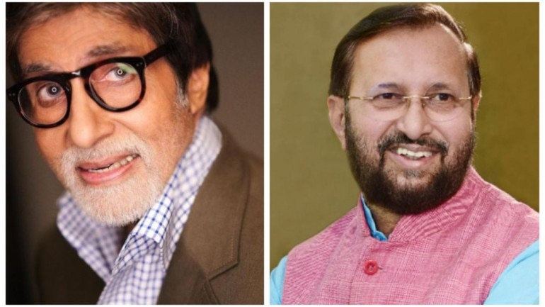 I&B Minister Prakash Javadekar announces Amitabh Bachchan will be honoured with the Dada Saheb Phalke award on December 29.