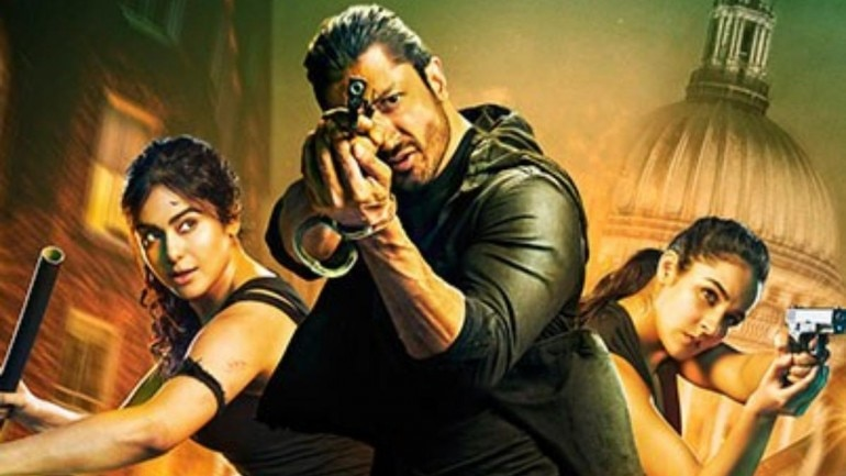 Commando 3 stars Vidyut Jammwal, Angira Dhar and Adah Sharma in the lead roles.