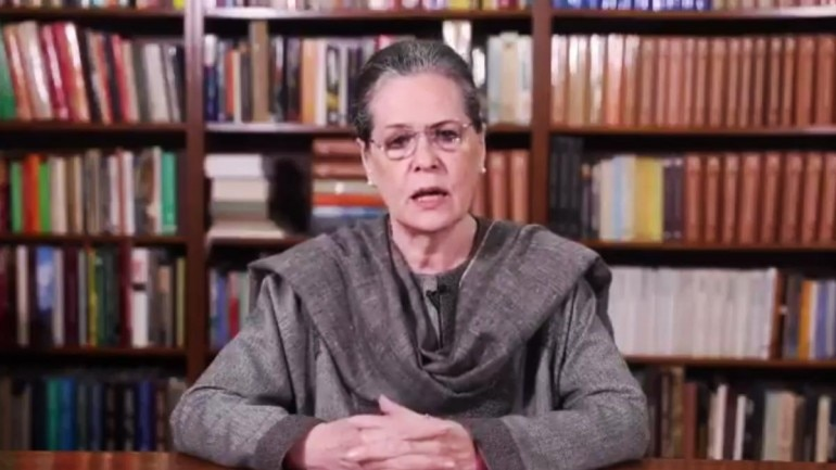 Congress condemns BJP's brute force to suppress dissent, says Sonia Gandhi
