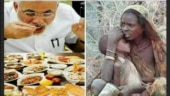 Fact Check: PM Modi's image photoshopped along with starving woman from Africa