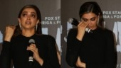 Deepika Padukone breaks down talking about Laxmi Agarwal at Chhapaak trailer launch. See video