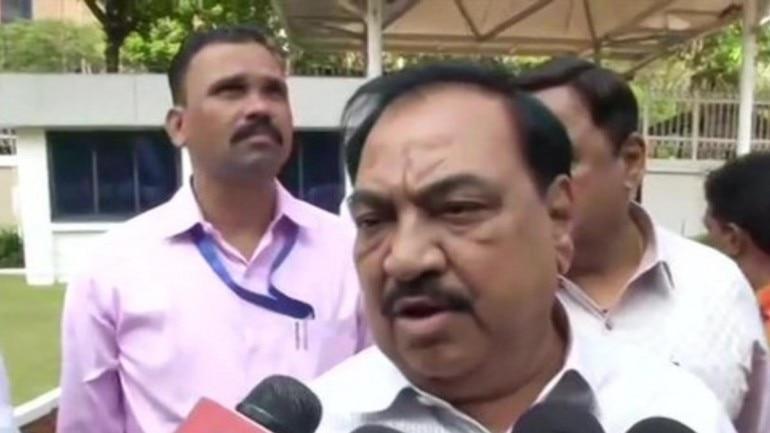 Have given proof against BJP leaders for Maharashtra poll losses: Eknath Khadse