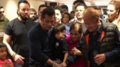 Salman Khan cuts birthday cake with nephew Ahil. See viral video