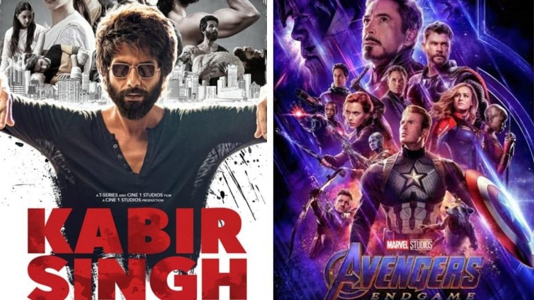 Kabir Singh beats Avengers Endgame on Google's top searched films of 2019.