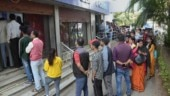 Curfew relaxed, long queues seen at Guwahati markets as locals rush to stock up essentials
