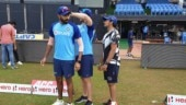 Jasprit Bumrah appears at India training session ahead of Visakhapatnam ODI