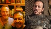 Trending now: Ser Bronn of Game of Thrones Jerome Flynn spotted at a Mumbai cafe