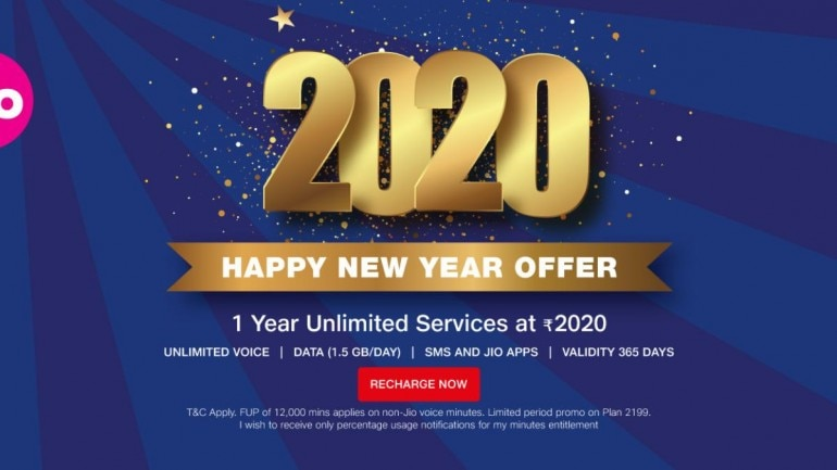Jio 2020 Happy New Year Offer What Is It How To Avail And