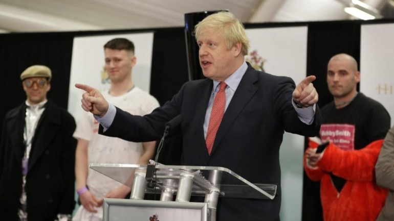 UK election: PM Boris Johnson-led Conservatives secure overall majority