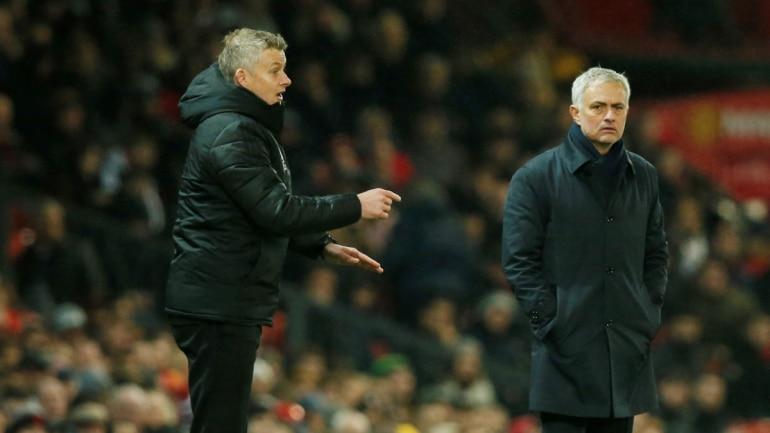 Image result for mourinho action in spur vs man city