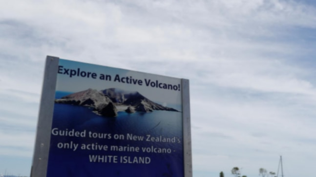 Tremors at New Zealand volcano island hinder recovery of bodies