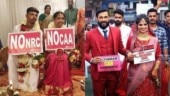 Couples use wedding photoshoots to protest against CAA and NRC