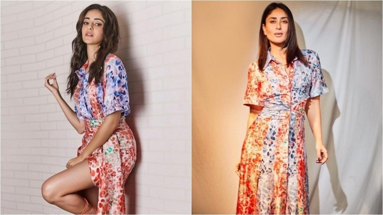 Ananya Panday takes fashion inspiration from Kareena Kapoor. Photo: Instagram