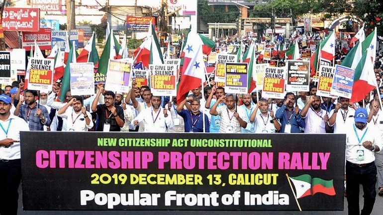popular front of india, caa, nrc