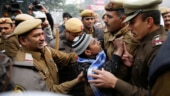 Protesters go berserk in Lucknow, damage vehicles, police posts; 1 dead