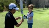 Ricky Ponting joins Twitter, shares pictures with his son