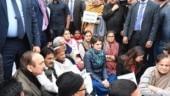 Priyanka Gandhi hits streets, sits on protest at India Gate to slam police action at Jamia